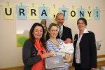 Willkommensgeschenk für Neugeborene - Wochenanzeiger München