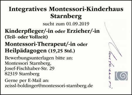 Integratives Montessori-Kinde