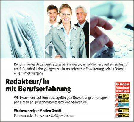 Stellenmarktstellenangebote Anzeigen Kleinanzeigen Der Münchner
