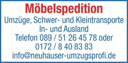 Möbelspedition Umzüge, Schw
