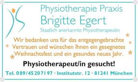 Physiotherapeut/in gesucht! T