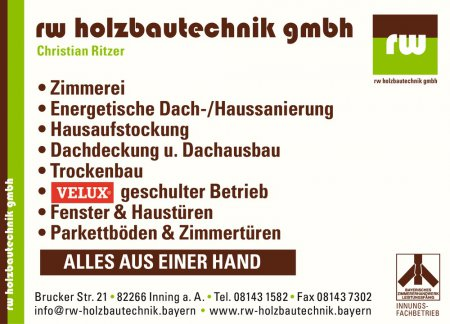 Brucker Str. 21 • 82266 Inn