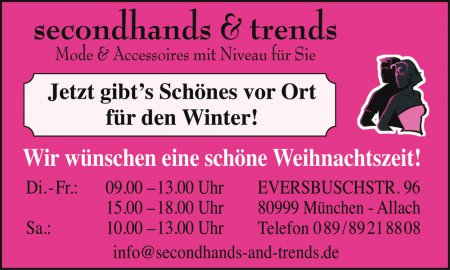 secondhands & trends Mode & A