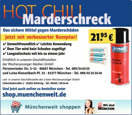 HOT CHILI Marderschreck Das si