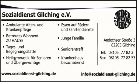 Sozialdienst Gilching e.V. An