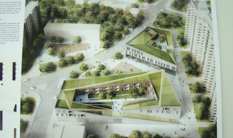 Architekten Finden wir müssen einen mittelweg finden architekten stellen entwürfe