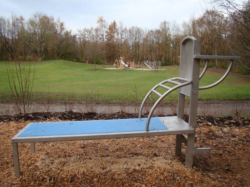 Trimm Dich Ist Wieder In Fitness Parcours In Der Aubinger Lohe