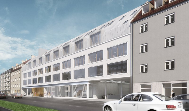 neues kleid f rs beck haus planung f rs ehemalige kaufhaus l uft. Black Bedroom Furniture Sets. Home Design Ideas