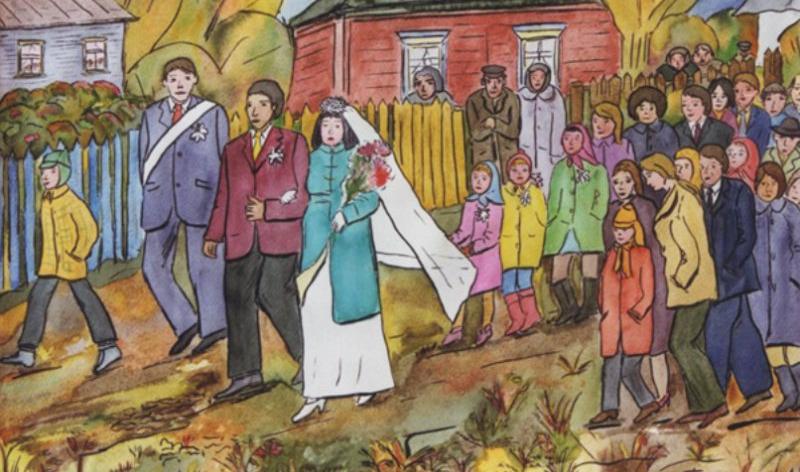 Hochzeit in der Ukraine: ein Mischung aus traditioneller