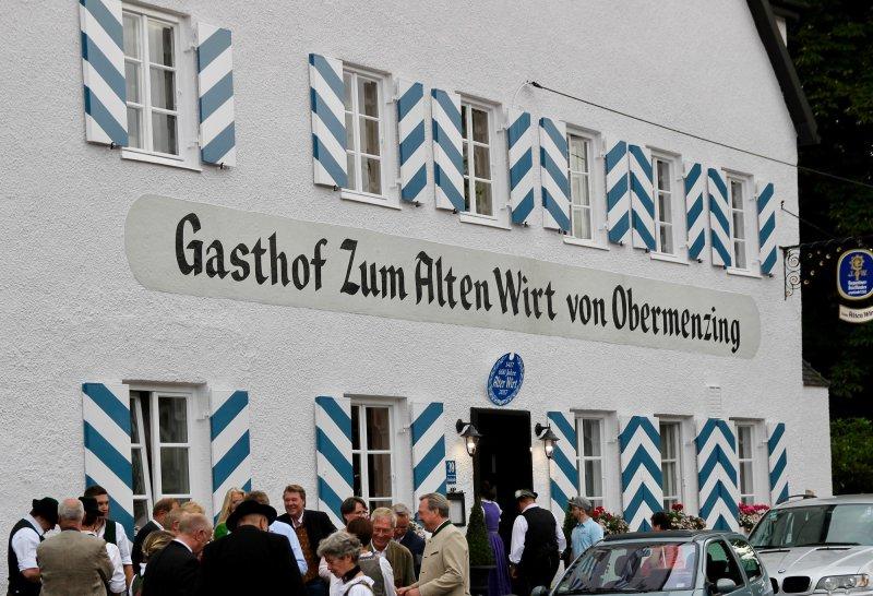 Munchen Obermenzing Wirtshausgeschichten Alter Wirt In Obermenzing Feierte 600 Jahriges Bestehen 04 07 2017
