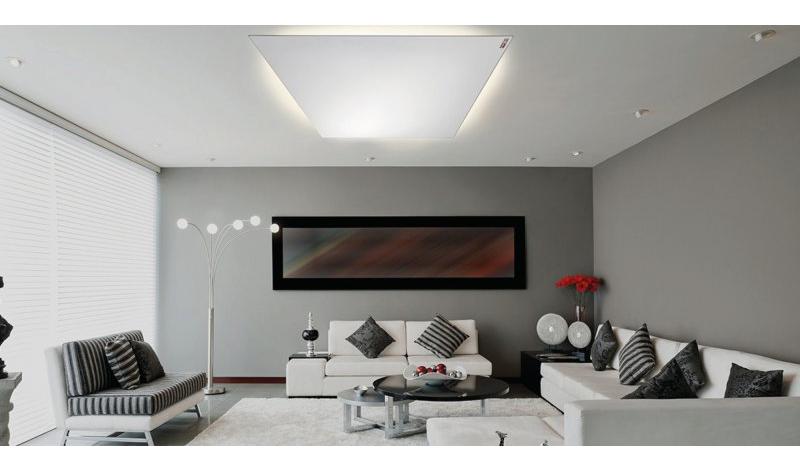 strahlungsw rme und licht kombination von infrarot. Black Bedroom Furniture Sets. Home Design Ideas