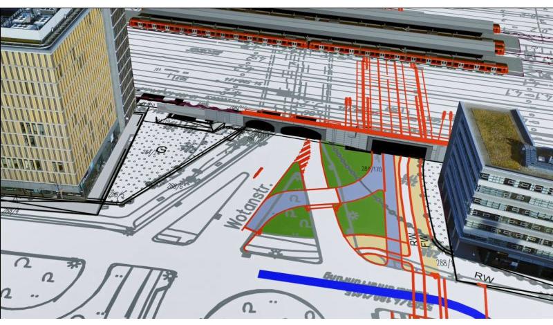 Riesen Baustelle Stammstrecke Die Vorbereitenden Bauarbeiten Haben