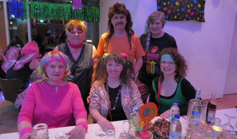 Frisuren 80er party