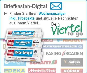 ePaper-Ausgaben und Prospekte der Münchner Wochenanzeiger